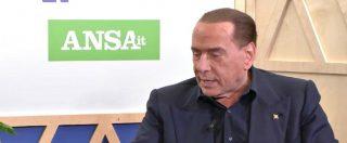 """Elezioni, Berlusconi: """"Nostra coalizione non avrà nulla a che fare con Casapound, né ora né dopo le elezioni"""""""