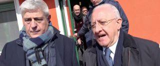 """De Luca, sul figlio e l'inchiesta di Fanpage una sola risposta: """"Ciao caro, chiedi a Perrella… ci vediamo in tribunale"""""""