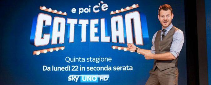 Le TelePagelle di febbraio – Promossi Cattelan e Agnelli. La fiction appiattisce De Andrè