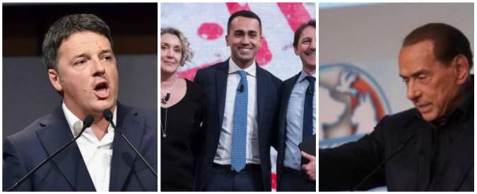 """Elezioni, Renzi a Berlusconi all'attacco sui ministri annunciati da Di Maio: """"Non rispetta regole"""". """"Nomi sconosciuti"""""""