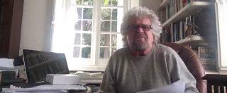 """M5S, Grillo: """"Ho parlato tutta la vita. Capisco il senso delle parole: forse è finita l'epoca del Vaffa"""""""