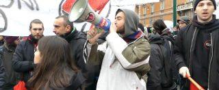 """Elezioni, Casapound chiude campagna al Pantheon. Presidio dei centri sociali: """"Nessuno spazio ai fascisti"""""""