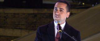 """Elezioni, Di Maio arringa la piazza grillina: """"Siamo a un passo dalla vittoria! Inizia l'epoca del M5S di governo"""""""