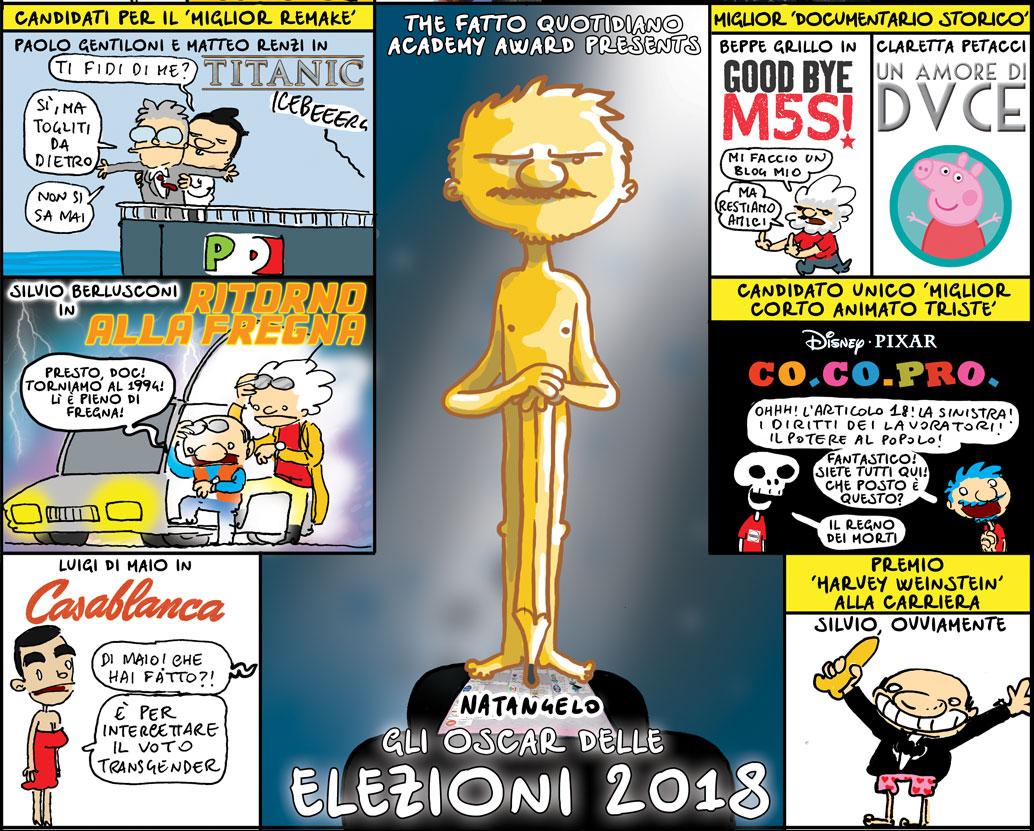 Un voto da Oscar