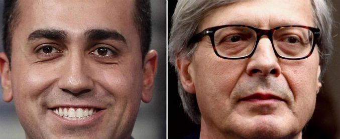 """Elezioni 2018, Luigi Di Maio batte Vittorio Sgarbi con il 63,4% dei voti. Lui: """"Questa è terra di disperati"""""""