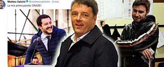 """Elezioni, Di Battista: """"Apoteosi. Dovranno parlare con noi"""". Salvini: """"La mia prima parola è grazie"""". Martina: """"Sconfitta netta"""""""