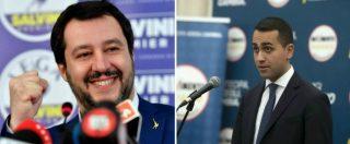 """Salvini-Di Maio, telefonata e nota congiunta Lega-M5s: """"Camere operative subito"""". Il Pd: """"Si spartiscono le poltrone"""""""