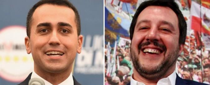 """Governo, Salvini a Di Maio: """"Da solo dove va? Gli mancano 90 voti, a noi 50"""". Replica: """"Vuole quelli di Renzi? Auguri"""""""