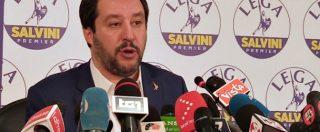 """Salvini: """"Mi sento molto meglio se chi puzza di mafia sta lontano da me. E i voti dei mafiosi mi fanno schifo"""""""
