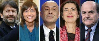 Elezioni 2018: trombati all'uninominale, salvati dai listini. Eletti De Luca, Fedeli, Pinotti, Orfini, Schifani, Pittella, De Falco
