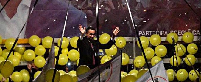 """Elezioni 2018, Di Maio: """"Inevitabilmente proiettati al governo. Senza M5s la legislatura non può partire"""""""