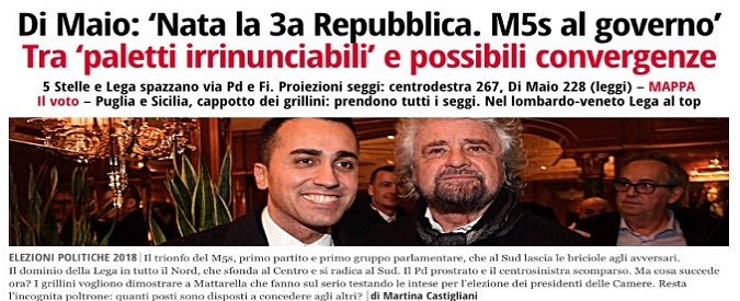 Elezioni 2018, record di contatti per ilfattoquotidiano.it. Terzo sito più letto in Italia con quasi 6 milioni di browser unici
