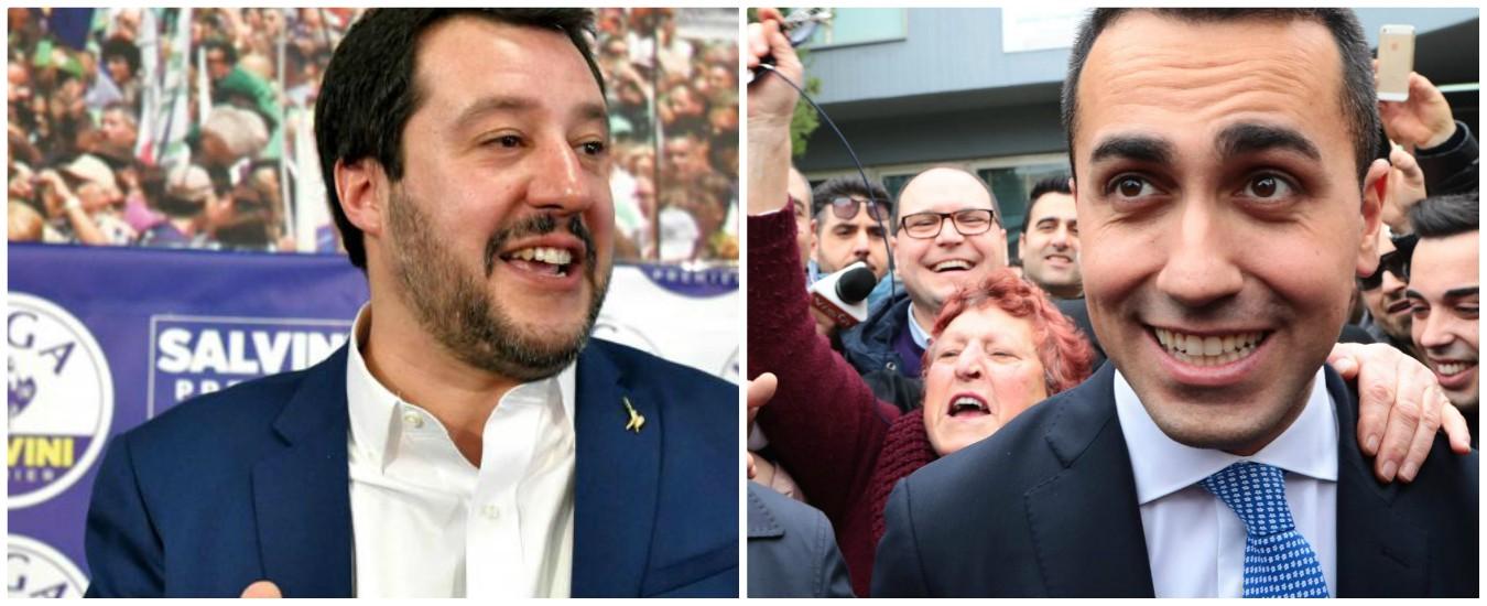 Lega e M5S, una sfida fra i due poli del populismo
