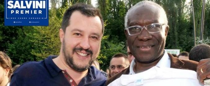 """Elezioni, il primo senatore nero è della Lega. """"Salvini tutela gli immigrati. Quelli regolari sono suoi fratelli"""""""