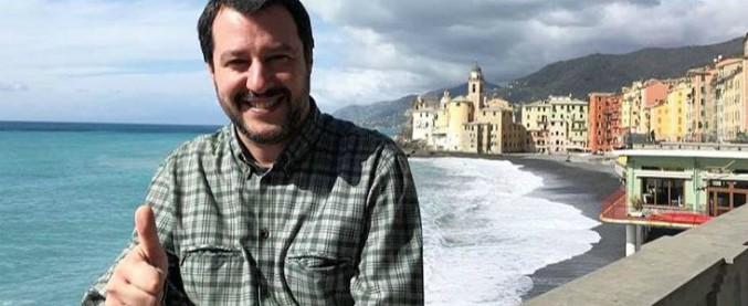 """Salvini: """"Gentiloni proroga gli incarichi ai servizi segreti e il M5s tace. Non vorrei fosse l'anticamera di un'intesa Pd-M5s"""""""