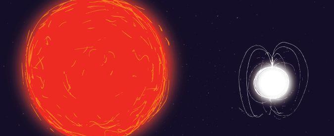 Così una gigante rossa ha riportato in vita una stella di neutroni diventata zombie