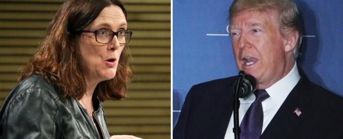"""Dazi, l'Unione Europea agli Usa: """"Siamo partner commerciali, escludeteci"""". Ma Trump insiste con Macron: """"Necessari"""""""