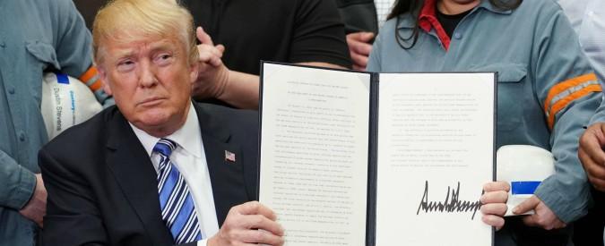 Dazi, la mossa di Donald Trump: ripropone la retorica dell'uomo anti-sistema in vista delle elezioni di midterm a novembre