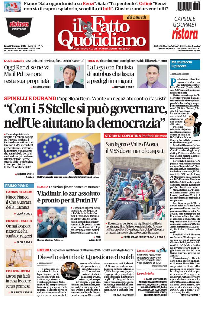 """""""Con i 5 Stelle si può governare, nell'Ue aiutano la democrazia"""""""