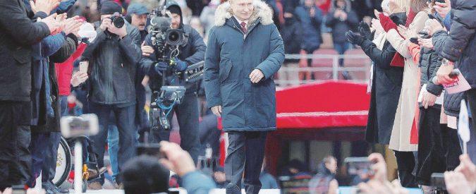 Russia, arriva il Putin IV. Per lo Zar nessun avversario, ma il consenso cala