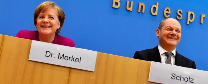 Germania, dopo Schäuble alle Finanze arriva il socialdemocratico Scholz. Ma la disciplina di bilancio resta punto fermo