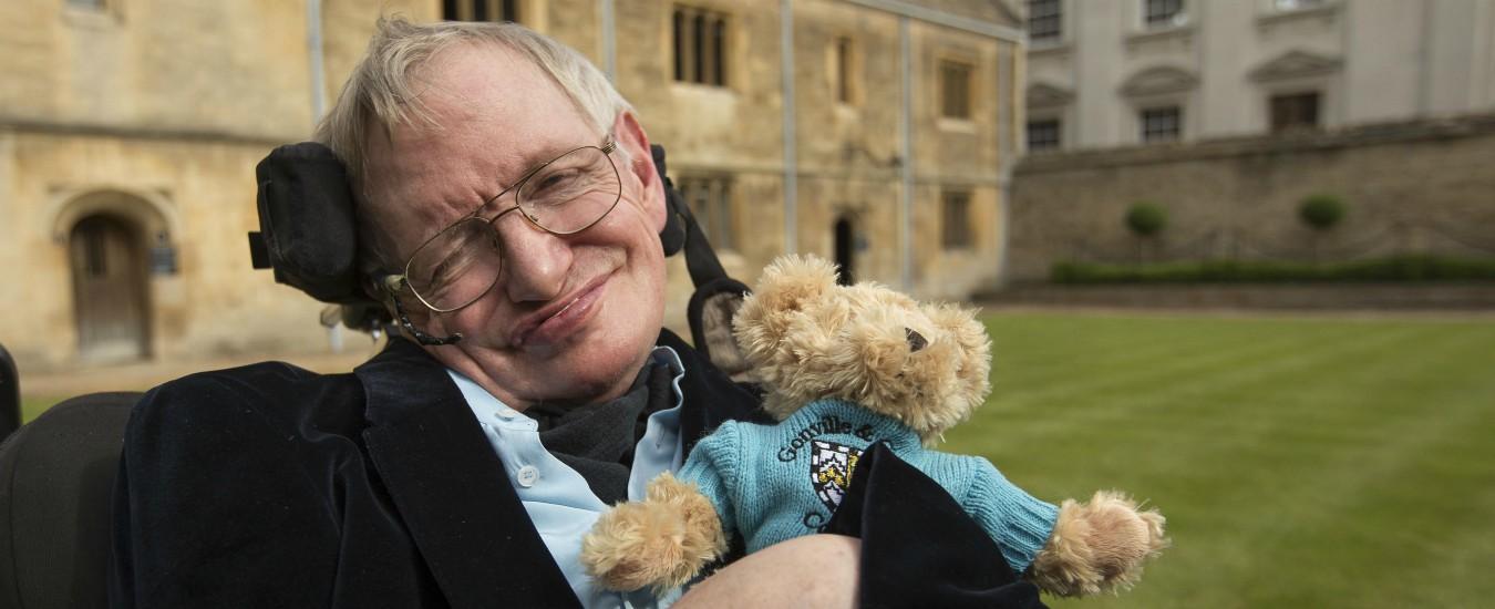 Stephen Hawking, il gigante che non ha potuto portare sulle spalle nessuno