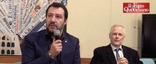 """Governo, Salvini: """"Accordo? Con tutti tranne il Pd. Ci sono dei punti irrinunciabili come Flat tax, Fornero e immigrazione"""""""