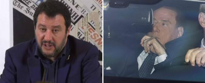 """Governo, Salvini: """"Noi e M5s diversi, ma possibile idea comune"""". Ma Berlusconi: """"Meglio appoggio su alcuni temi da Pd"""""""