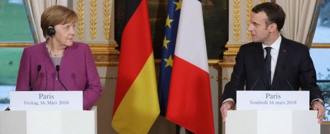 """Elezioni 2018, Macron-Merkel: """"Le elezioni italiane hanno scosso il contesto europeo"""". Rafforzato asse franco-tedesco"""