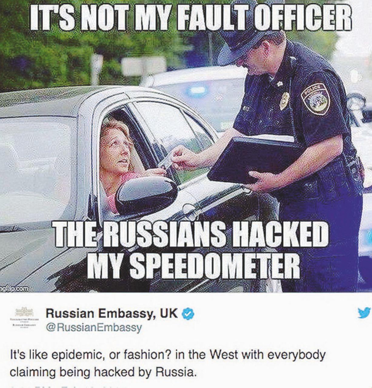 Non solo veleni: Mosca deride Londra con i troll