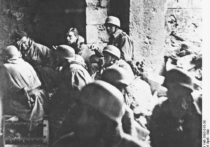 Cassino, la destra omaggia i parà nazisti del 1944