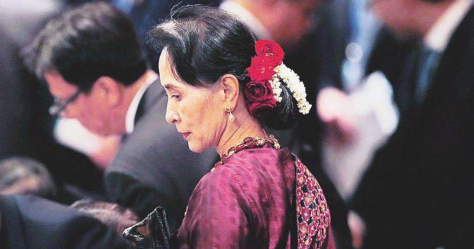 Il Nobel infangato dai crimini di Lady Birmania
