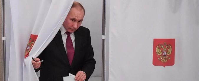 Elezioni Russia, Vladimir Putin rieletto per il suo quarto mandato: gli exit-poll lo danno al 73,9%