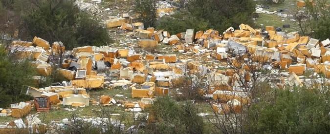 """Frigo-valley a Roma, allerta Legambiente """"Possibili rifiuti sotterrati e sversamenti"""""""