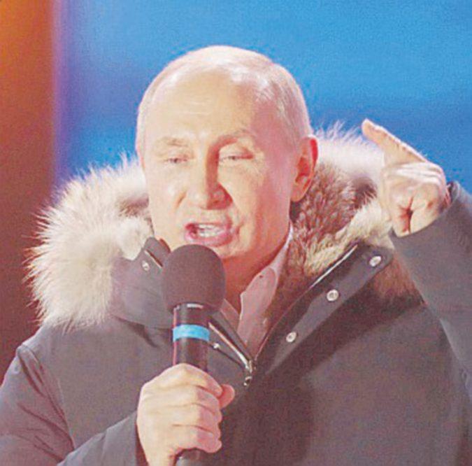Cremlino, parodia di un'elezione