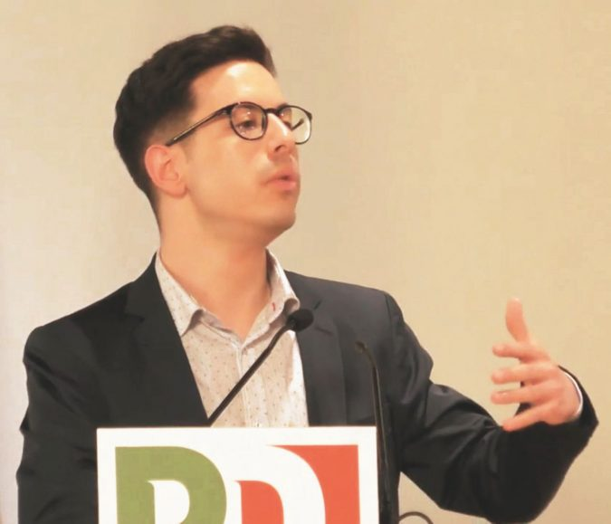 """Nicholas Ferrante, parla il giovane iscritto che ha attaccato il Pd: """"Partito ha lasciato i suoi valori ai 5Stelle: lavoro, etica e diritti"""""""