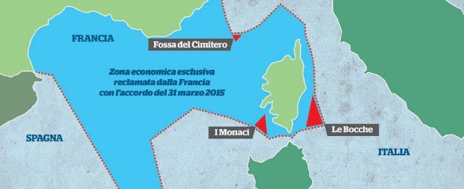 Italia-Francia, ripudiato l'accordo (firmato Gentiloni) sulle acque territoriali: amplia le zone di pesca di Parigi