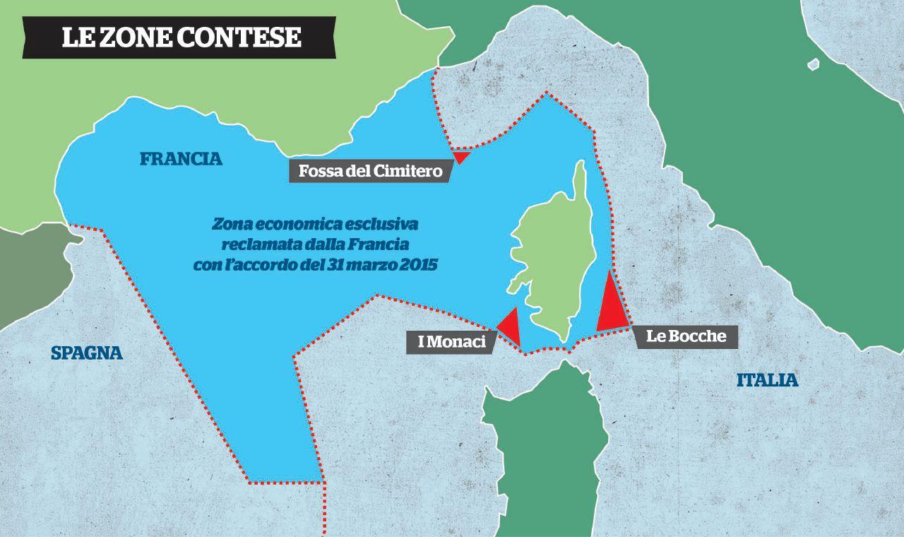 Confini marittimi Italia-Francia. Farnesina precisa che rimangono