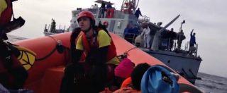 """Catania, la guardia costiera libica alla nave dell'ong (poi sequestrata dai pm): """"Dateci i migranti o vi uccidiamo"""""""