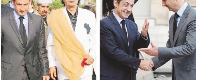 """Sarkozy fermato per i soldi """"neri"""" del raìs Gheddafi"""