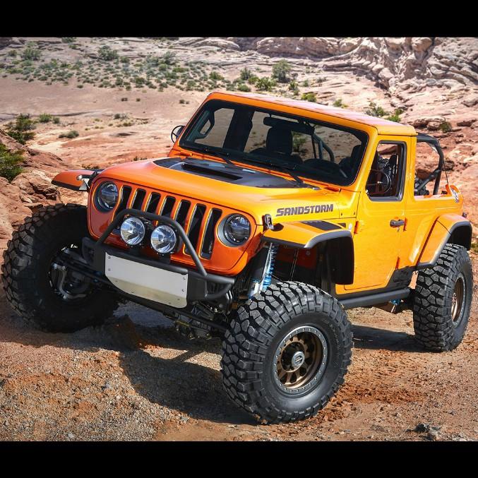 Easter Jeep Safari, dentro l'uovo di Pasqua ci sono i nuovi prototipi – FOTO