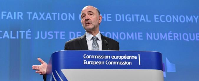 """Web tax, la proposta Ue: """"Tassa del 3% su ricavi da vendita pubblicità, dati e intermediazione digitale"""""""