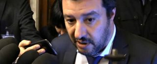 """Camere, Salvini: """"Veto M5s su Romani? Nomi e cognomi siano condivisi da tutti i partiti"""""""