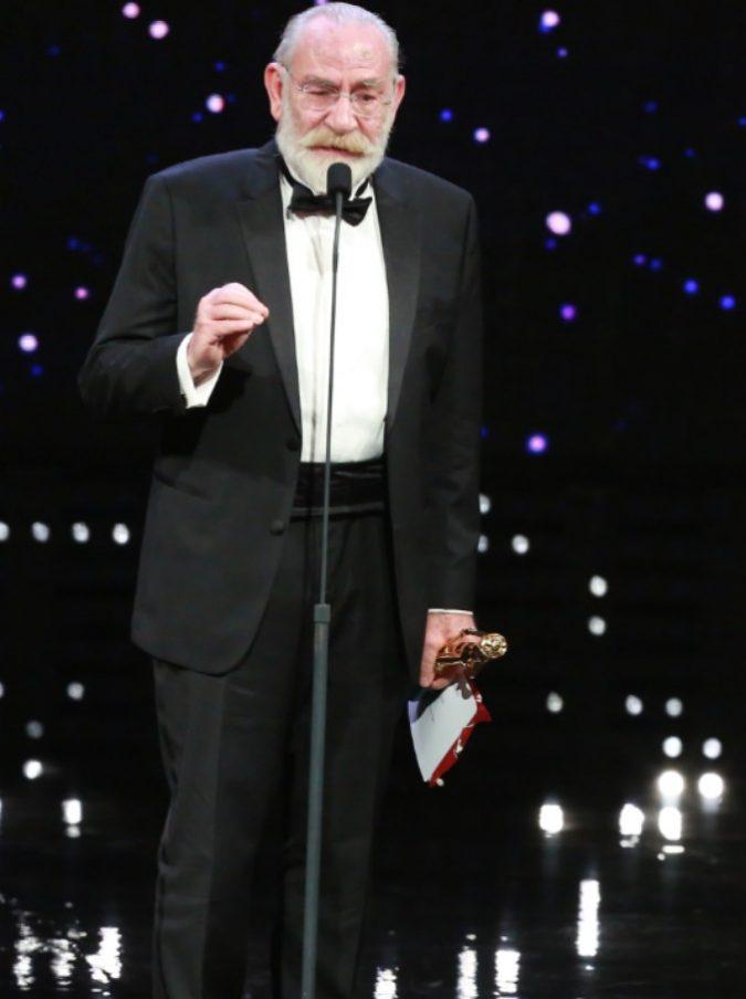 David di Donatello 2018, finalmente il pubblico italiano ha riscoperto la bravura di un attore straordinario: Renato Carpentieri