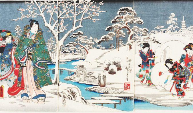 Hiroshige: il tempo fermo tra riso e sake