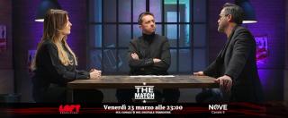 """The Match, Lucarelli vs Baldini: """"Gioco d'azzardo? Vado nelle scuole a parlare dei miei errori"""". """"E' troppo presto"""""""