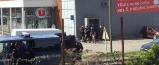 Attentato Francia, tre morti e 16 feriti. L'assalitore ucciso dalle teste di cuoio: chiedeva il rilascio del terrorista Salah Abdeslam. Gendarme eroe si è offerto al posto dei sequestrati