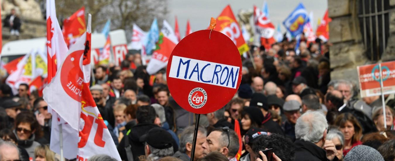 Francia, scioperi per la riforma dei treni. Come in Italia, le Ferrovie dello Stato pesano sul governo