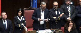 Camera, si riparte con la dedica di Giachetti a Pannella. I primi voti di Boschi e Di Maio, la solitudine degli espulsi M5s