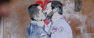 Murales Salvini – Di Maio, l'epic fail di Simona Ventura